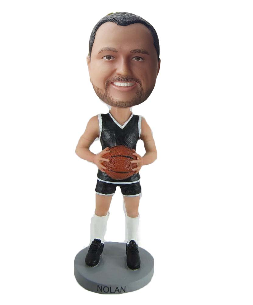 Make baketball bobble head S18