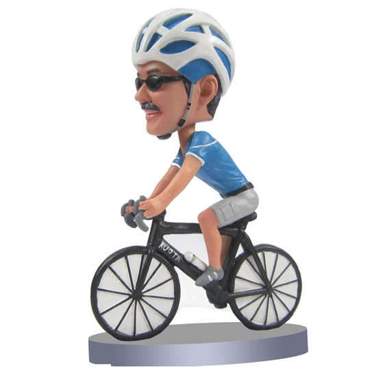 Make bicycle bobble head S23