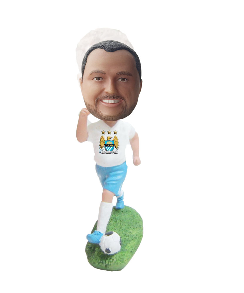 Make football bobble head S36