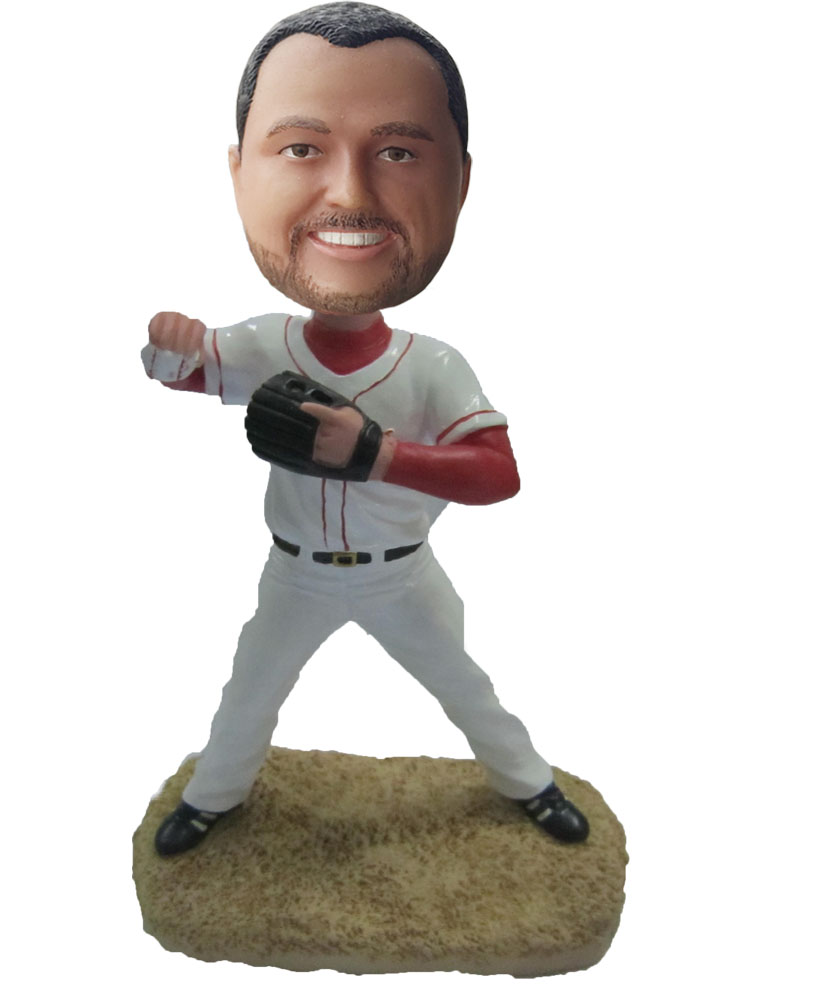 Make baseball bobble head S42