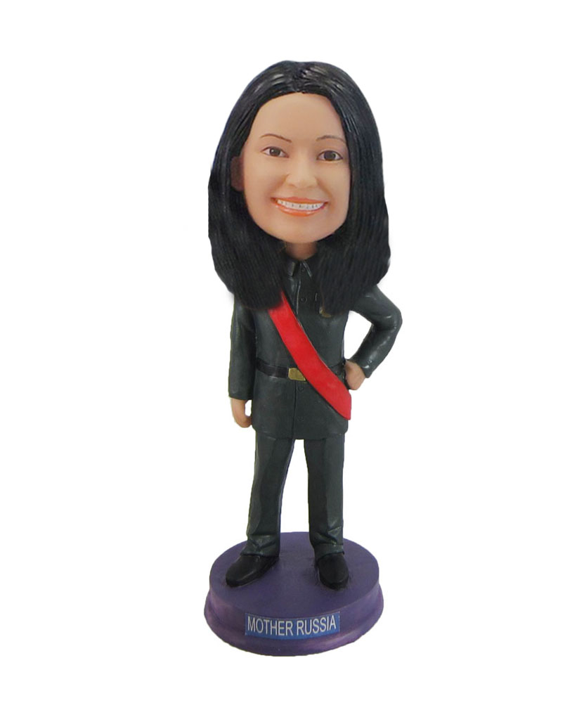 Best mother in the world bobblehead doll F1022