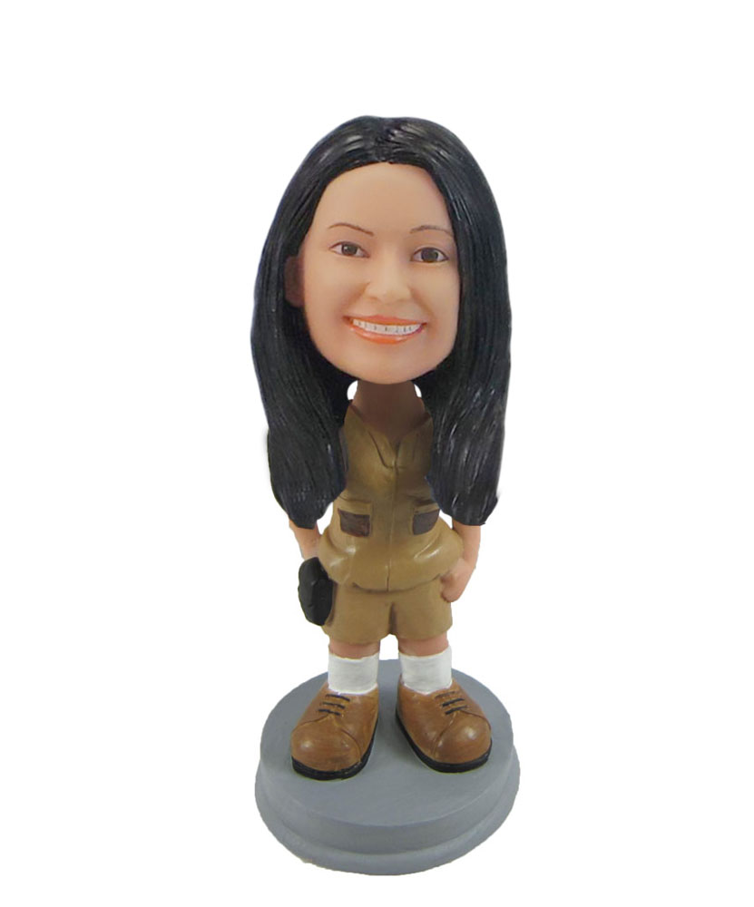 Teenager in stylish outfit bobbleheads F1066